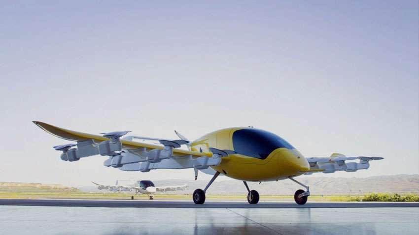 تاکسی هوایی گوگل